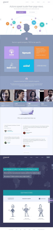 Mix Panel 29 April 2013 http://www.awwwards.com/web-design-awards/mix-panel #webdesign #inspiration #UI #Clean #Icons #Texture #CSS3 #Scroll #White #Green #Blue