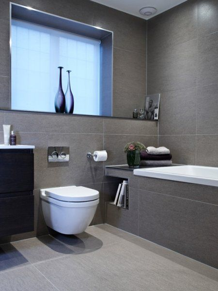 Side of the bath in grey? Gap at other end of bath to put your books in?