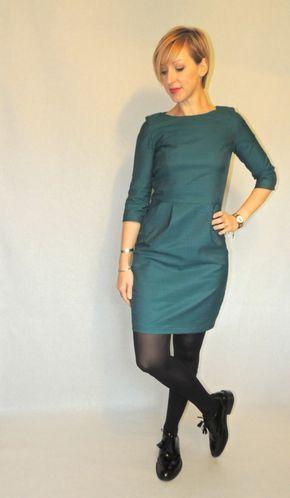 Robe Lora #2 Conseils couture : Report des pinces sur le tissu avec du calque et roulette