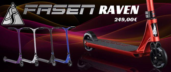 Nouvelles trottinettes RAVEN de FASEN  http://www.nomadeshop.com/?q=raven&f=MV8yXzFfMV8=