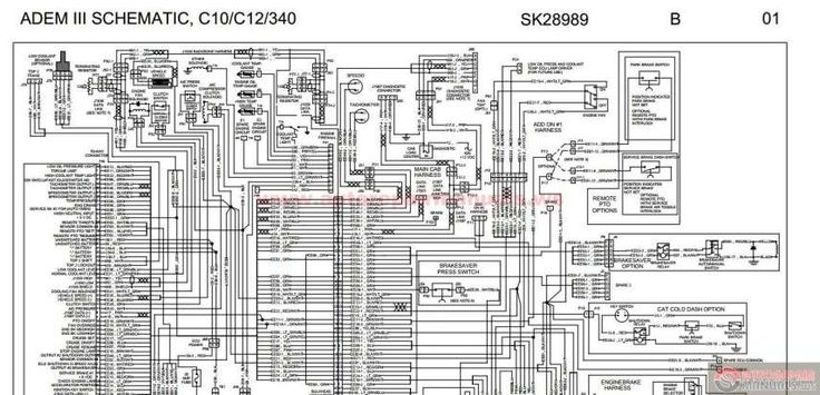 16  Wiring Diagram 1987 Peterbuilt 379 With Cat Engine