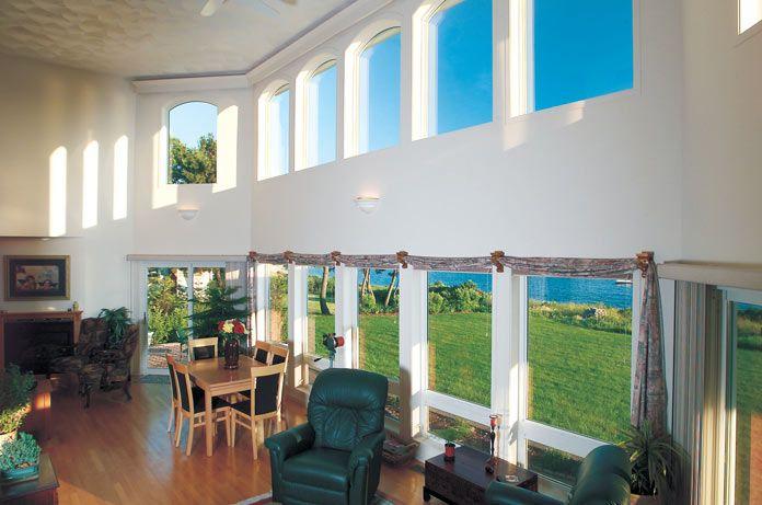 Gentek Building Products   Special Shape Windows