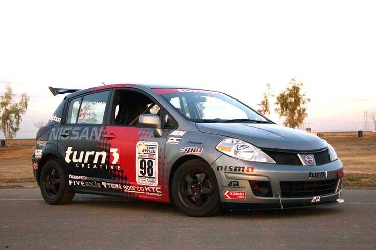 Nissan Tiida Rally