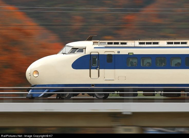 Japan Railways (JR) » The final running of series 0 EMU - the first high speed rail in the world.