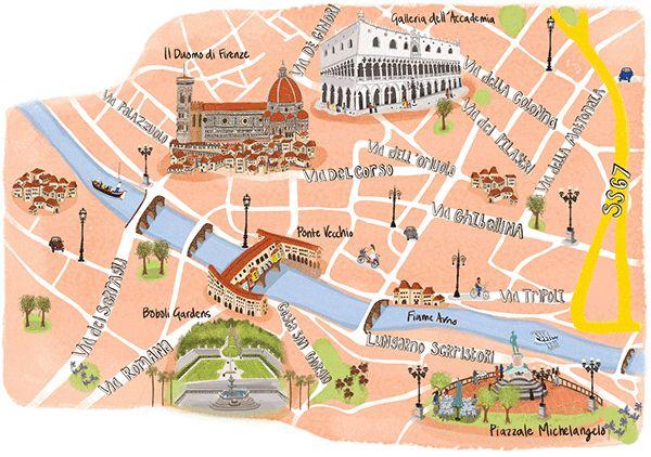 Florencia. Italia. by Naomi Skinner