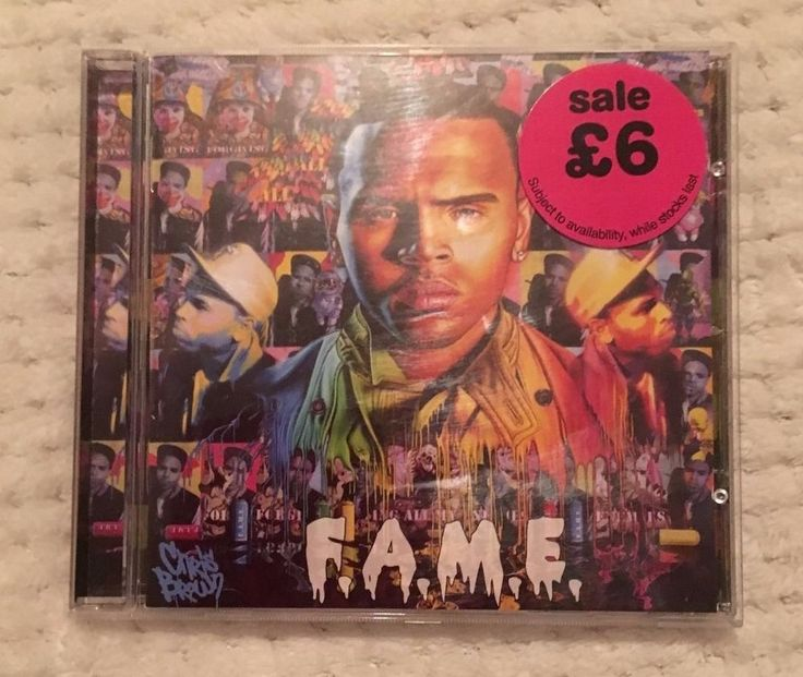 Only £2.99! Chris Brown - F.A.M.E. CD - Deluxe Version - Free Postage