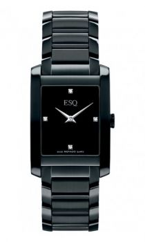 ESQ Movado Venture black stainless steel #watch    Visit Bella Design Jewelers for more ESQ #Watches.