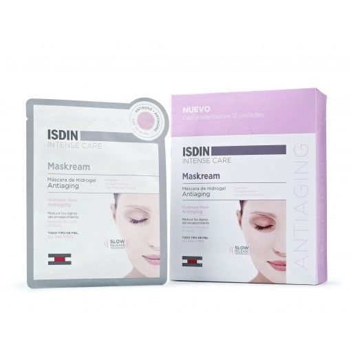 Máscara hidratante facial de hidrogel con tecnología slow release de efecto inmediato y duradero. Su fórmula mejora la densidad, elasticidad y tonicidad de la piel. Conseguirás una piel más tersa y renovada en pocos minutos. Adecuada para todo tipo de pieles.