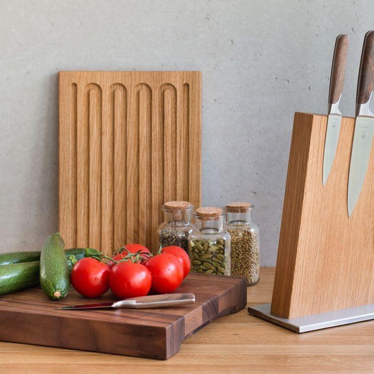 Küchenaccessoire Schneidebrett aus Holz Küchenzubehör