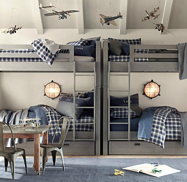 gray boys' room