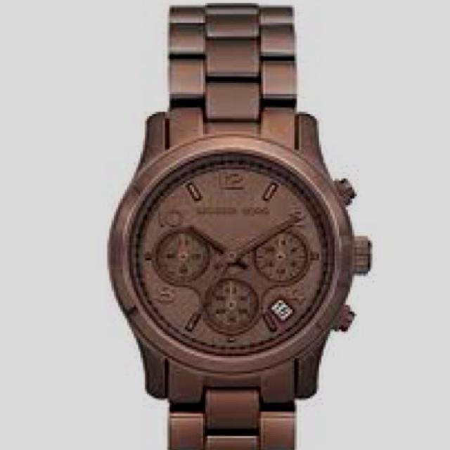 Michael Kors Bronze Men's Watch.