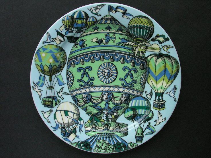 Bopla Dinner Plate Mongolfière Series Voyage by Langenthal Switzerland | eBay & The 862 best Dinner / Tableware images on Pinterest | Glass art ...