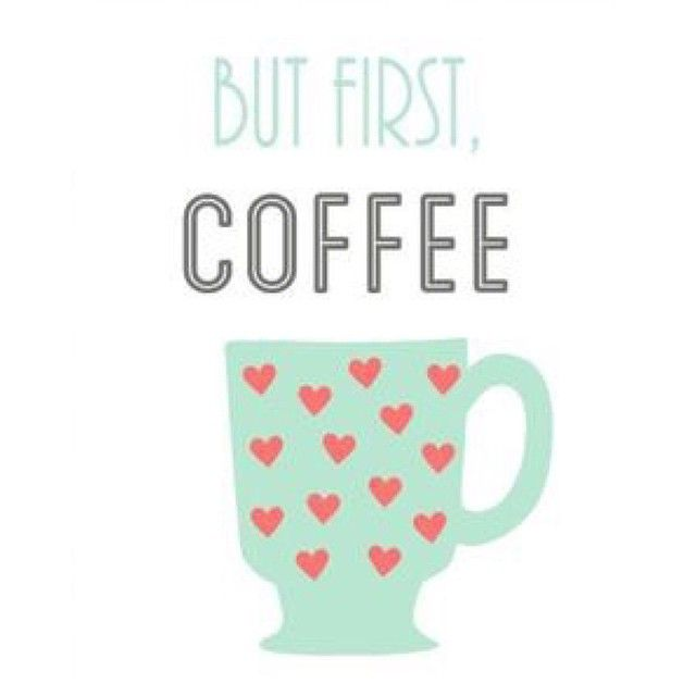 Life without coffee....I don't think so!
