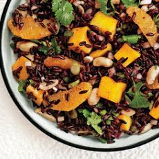 Black Rice Salad with Mango and Peanuts | Side Dishes | Pinterest