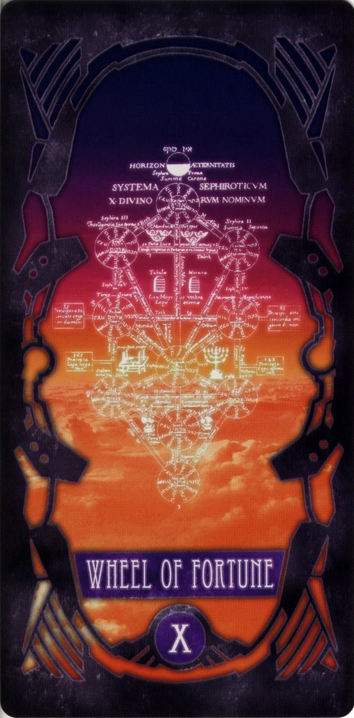 Evangelion Tarot Cards -Wheel of Fortune
