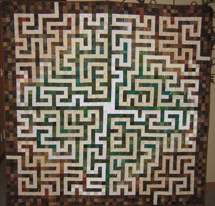 Labyrinth Walk Quilt Tutorial – Jerusalem House