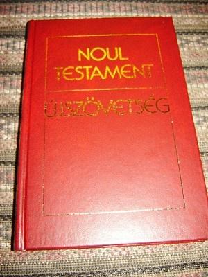 Romanian Hungarian Bilingual New Testament / Noul Testament - Ujszovetseg