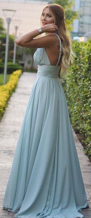 Blue Mint Gown                                                                             Source