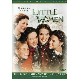 Little Women is my favorite movie.  Period.  First of all, it's a beautiful film and everyone is well-cast (how annoying is young Kirsten Dunst?).  Winona Ryder is the most convincing and compelling Jo.  You can feel time passing as you watch the film including seasons, times of war, times of peace, and the anxiety of not wanting things to change too much as you grow older.    Plus, Baby Christian Bale.Film, Winona Ryder, Christian Bale, Little Women, Woman, Book, Littlewomen, Women 1994, Favorite Movie