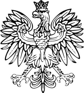Polish Eagle to use on pillow