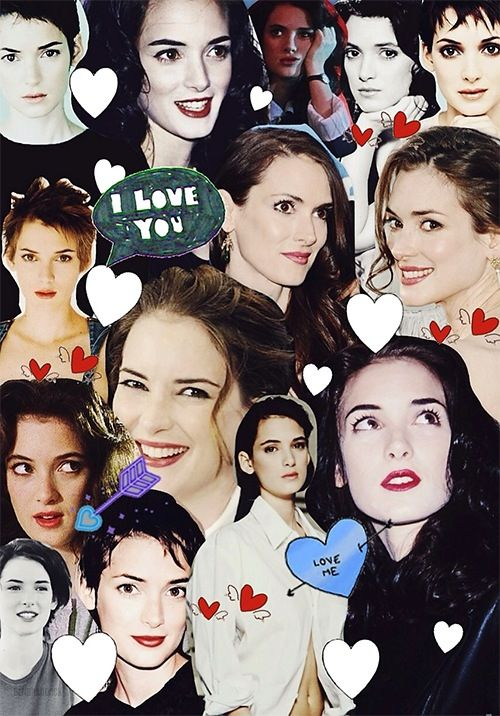 Winona Ryder collage