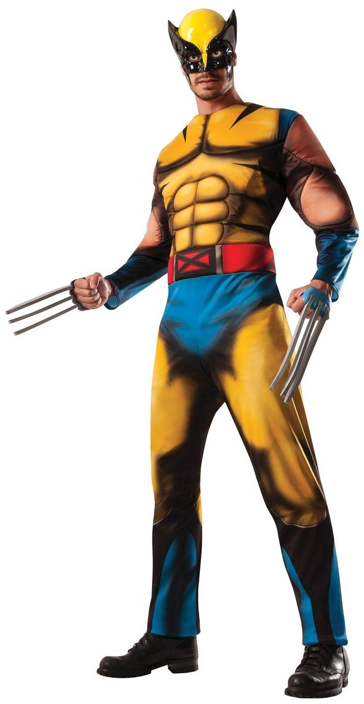 Deluxe Adult Wolverine Costume from Buycostumes.com