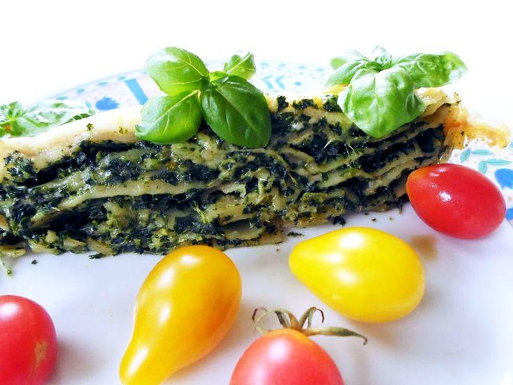 Przepis na lasagne ze szpinakiem, która zawsze się udaje