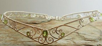 DIY Tiaras and Circlets. I'm not sure when I could but how fun to make little crowns for friends.