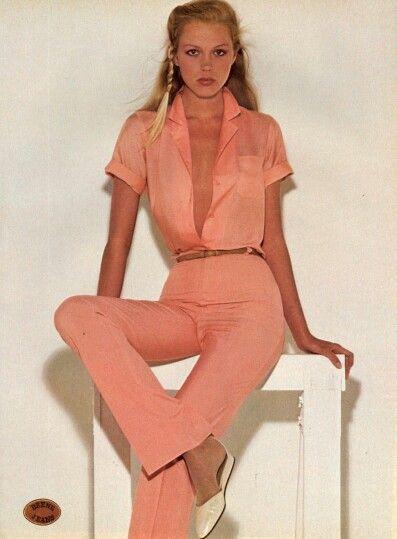 US Vogue February 1980 Model Kim Charlton