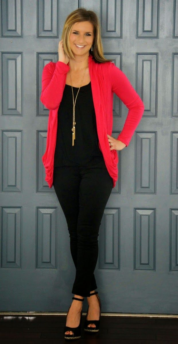 Stitch Fix Stylist, I love the length and color of this cardigan. It looks fantastic over basic black.