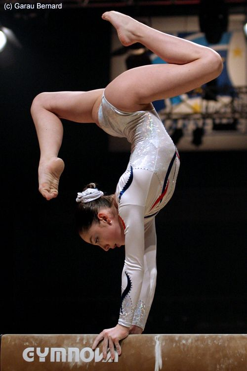 Aliya Mustafina. besides all of the USA gymnasts, id love to see this girl do good at London :)