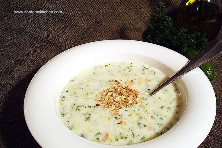 Tarator - The Traditional Bulgarian Cold Cucumber Soup ...