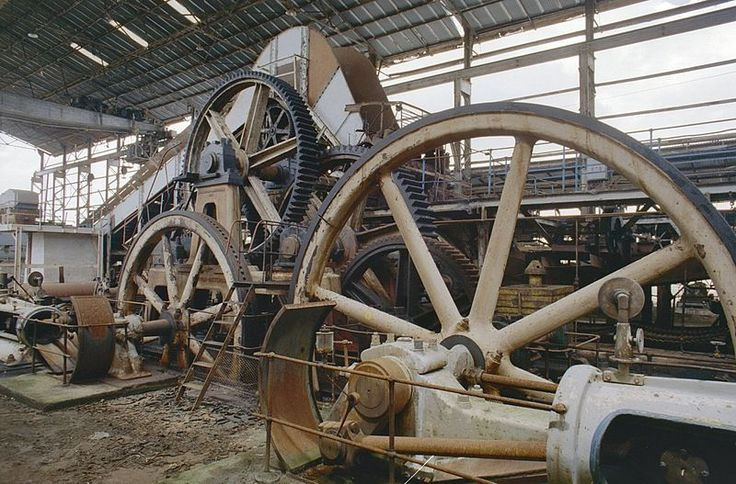 industrial heritage, old sucker plantage Mariënburg - Suriname photo by Rijksdienst voor het Cultureel Erfgoed