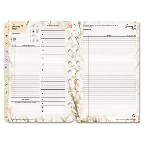 FranklinCovey® Blooms® Dated Daily Planner Refill Frankli...