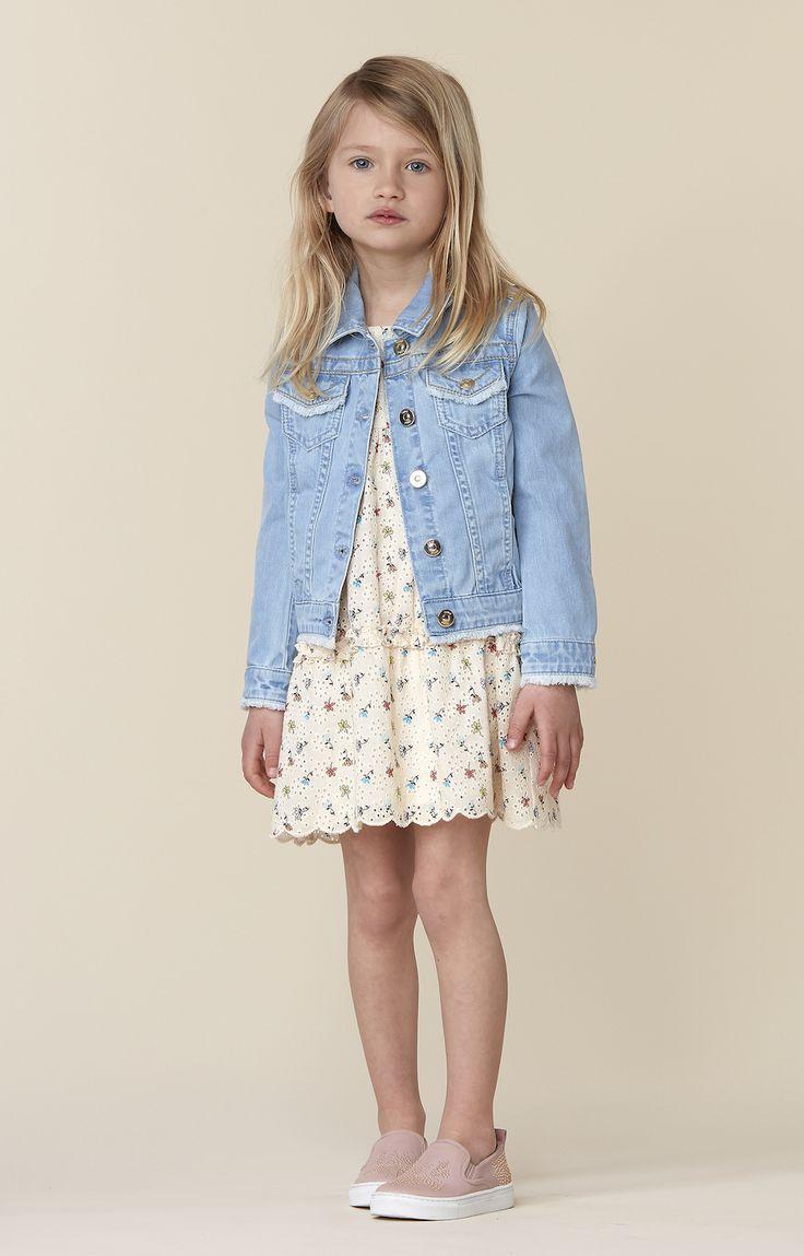 Chloé girls SS17. Summer clothes for girls.
