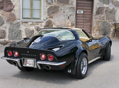 Chevrolet Corvette C3 | Hans Karlssons Chevrolet Corvette C3 Stingray, custom C3/C2