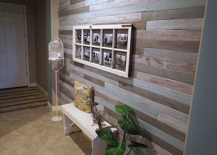 Diy Accent Wall Cheap Accent Wall Wood Paneling