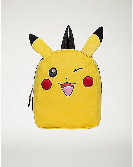 Mini Pikachu Pokemon Backpack - Spencer's