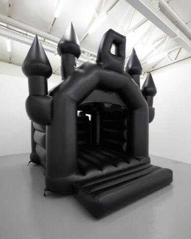 you must hold my funeral in this bouncy castle and nowhere else....