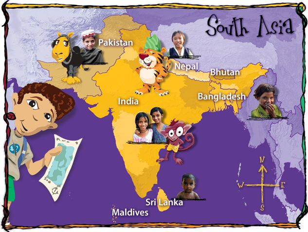 Teachers and Parents! Visit the #Caravan to find materials for teaching your children about South Asia. (read more)