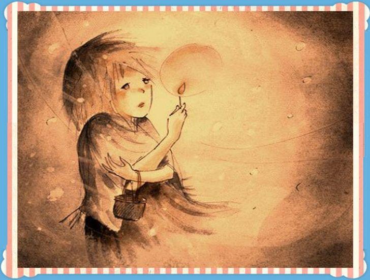"""""""Το Κοριτσάκι με τα Σπίρτα"""" η αφήγηση του παραμυθιού"""
