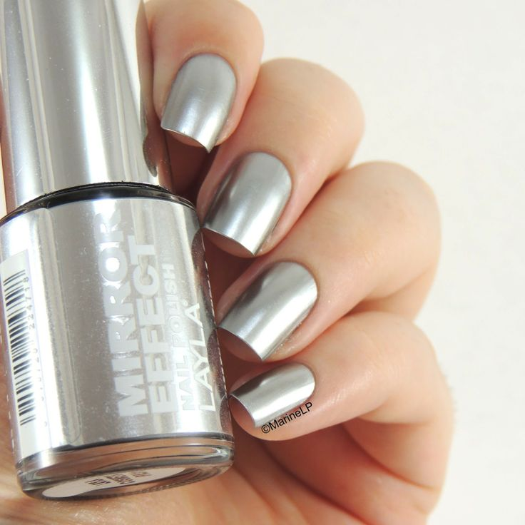 Les 25 meilleures id es concernant mirror effect nail for Vernis a ongle miroir