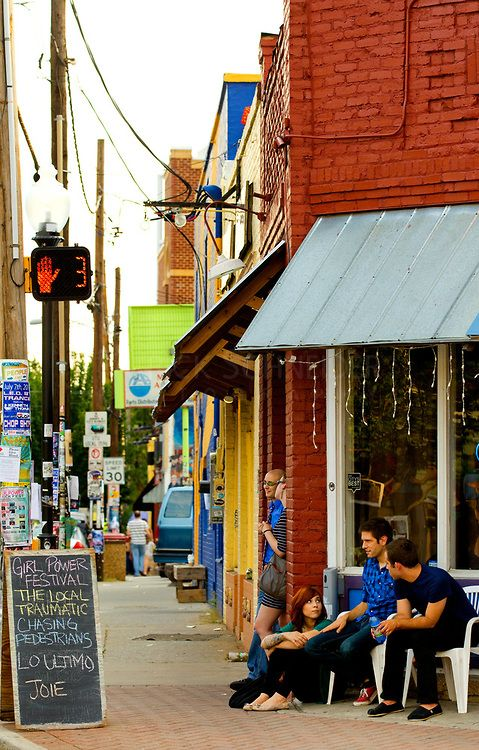 "Saw this pin that someone posted and had to repin...our old neighborhood NoDa! :) ""Charlotte's NoDa Historic Art District community. Considered by many to be Soho's little sister, NoDa (North Davidson) is home to a collection of galleries, performance venues, funky restaurants and retailers."""
