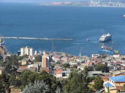 Valparaíso visto desde los cerros