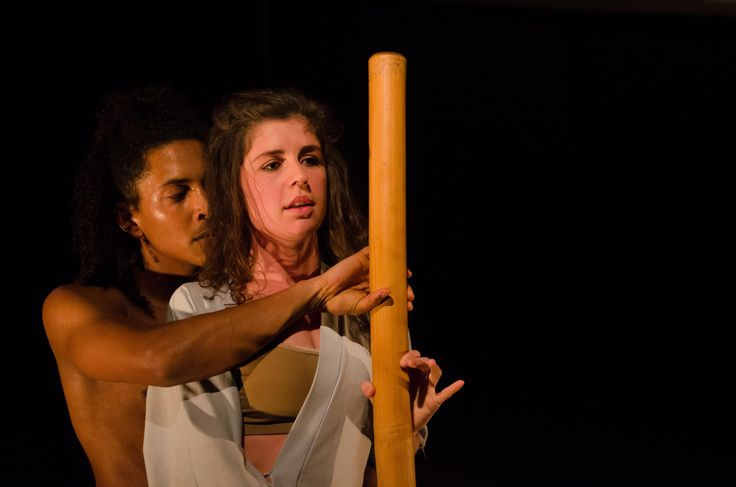 Salt featuring Daniel Richards and Emma Kotze at the 2014 National Arts Festival in Grahamstown. Photograph by Marius Janse van Rensburg