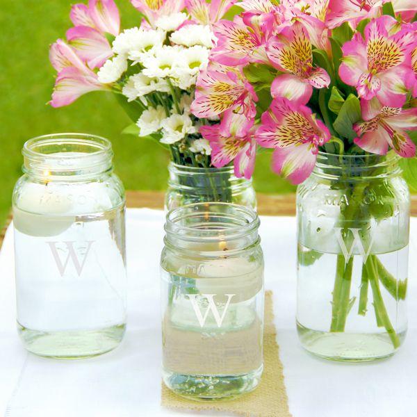Mason Jar Wedding Reception Ideas: Mother's Day Gift Ideas