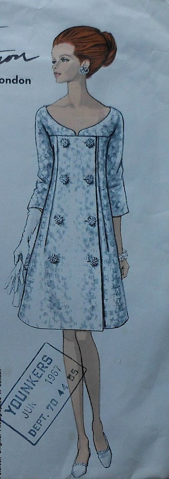 Платье 40-50х
