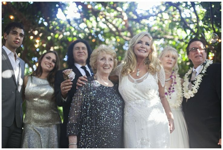 Gene Simmons and Shannon Tweed Simmons Family Photo by Trish Barker