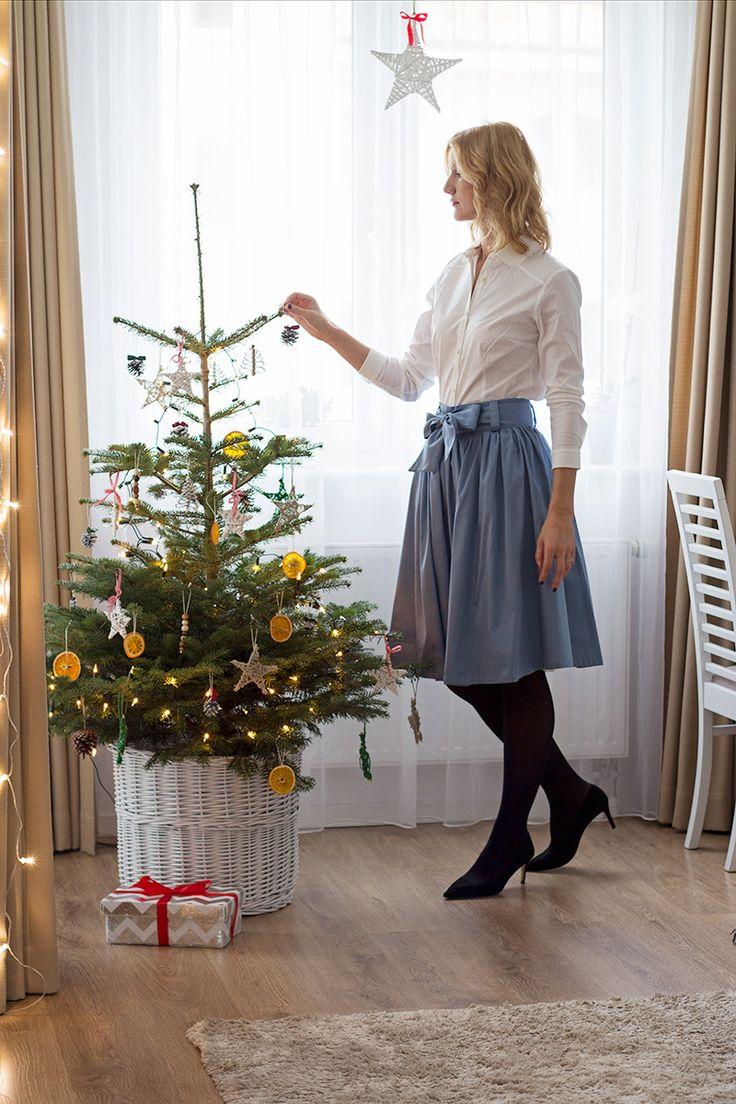 strój na wigilię / świąteczny outfit / christmas outfit