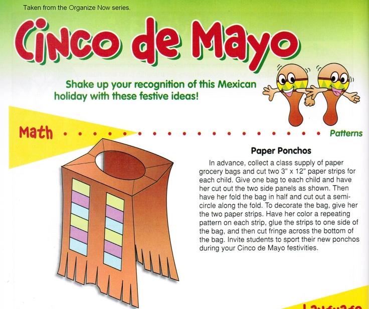Cinco De Mayo Cut Paste Craft